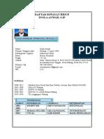 Daftar Riwayat Hidup Inola Anwar (1)