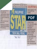 Philippine Star, July 23, 2019, Duterte Directives.pdf