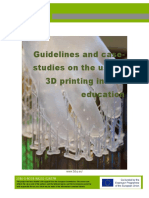 Guidelines and Case-studies on the Use of 3D Printing in VET Education