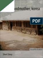 Sounghyun Boy Grandmother Korea