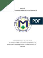 Program Pengawasan Manajemen Resiko & Fasilitas