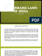 Trademark Laws in India