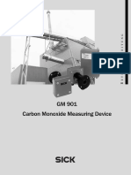3 GM901 Carbon Monoxide Measuring Device User Instructions