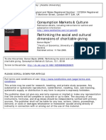 Domen Bajde (2009)_Rethinking the social and cultural dimensions