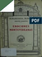 Baroffio, Orestes - Emociones Montevideanas