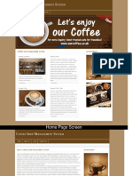 Coffee Shop Management System Php Project Screens