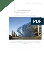Construction of Heydar Aliyev Center by Zaha Hadid (Part 1) « Adelto Adelto
