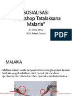 pelatihan malaria