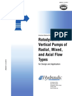 Rotodynamic vertical pumps
