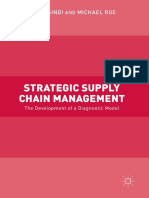 Strategic Supply Chain Management the Development of a Diagnostic Model
