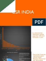 Indian Csr Expenditure