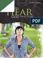 How Can I Hear God Speak to Me
