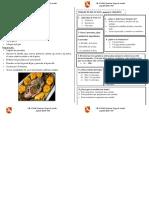 Ficha - Texto Instructivo- Ceviche