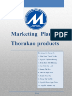 Marketing plan for Thorakao