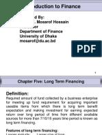 Chapter - 5 Long Term Financing