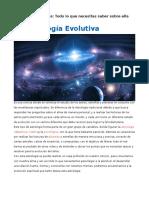 La Astrología Evolutiva