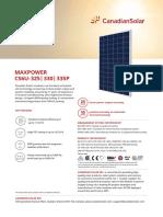 Canadian Solar Datasheet MaxPower CS6U P v5.571 en 1