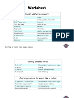 Listening Practice Worksheet - How We Met