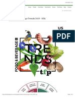 Food and Beverage Trends 2019 - USA