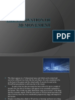 The Innovation of 3D Movement