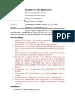 INFORME N°002 INFORME DE ACTIVIDADES MENSUALES