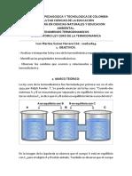 1laboratorio Ley Cero de La Termodinamica