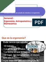 Ergonomia Antropometria y Biomecánica