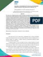 AVANÇOS E DESAFIOS PARA O ATENDIMENTO ÀS CRIANÇAS DA PRIMEIRA INFÂNCIA DA REDE MUNICIPAL DE ENSINO DE ITUMBIARA -