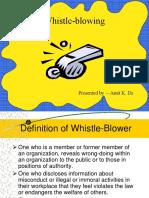 Whistleblowing (3)