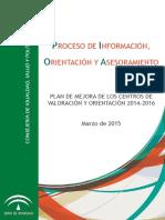 proceso de información, orientación y asesoramiento