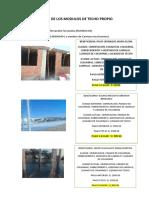 Avanze de Los Modulos 200719 Total