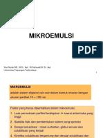 Mikroemulsi