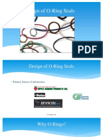 Design of O-rings for Sealing