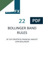 22 Bollinger Band Rules