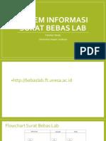 Sistem Informasi Surat Bebas Lab