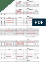 Horario Mecanica Interciclo 2 Calendario