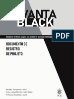 Documento de Registro de Projeto - Vantablack