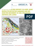 UNOSAT Report Damage IDP Analysis April 2009 v6