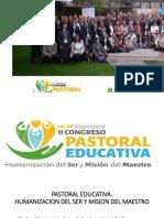 Congreso Pastoral Educativa