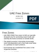 Lecture 12-UAE Free Zones