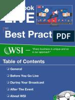 FacebookLiveBestPractices- WSI EStrategies eBook