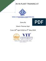 Sifl Internship Report