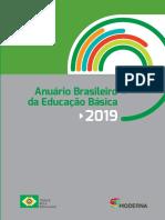 Anuário Brasileiro de Educação Básica 2019