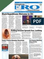 Washington D.C. Afro-American Newspaper, 13, 2010