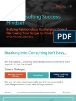 The Consulting Success Mindset