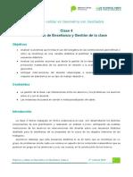 Clase 4- Situaciones de Enseñanza y Gestión de La Clase