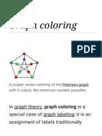 Graph Coloring - Wikipedia
