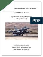 F16 Flight Control System