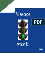 3.- Instalacion TX