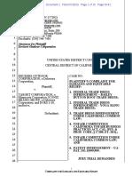 Deckers v. Target - Complaint (Bailey Button)